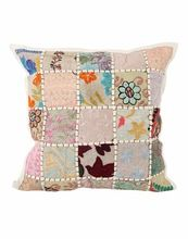 Patchwork Ethnic Floral Handmade Throw Pillow Case Accent Cushion Cover