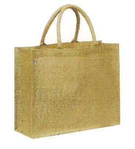 Rope handle jute bag