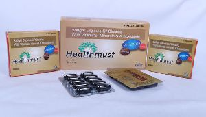 Ginseng With Vitamins Minerals And Antioxidants Softgel Capsules