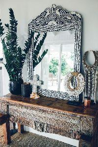 Framed Dressing Mirror
