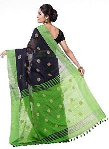 Handloom Printed Soft Cotton Saree