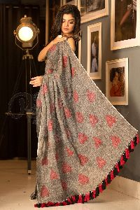 Customized Linen Saree