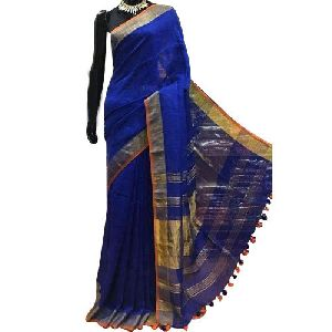 Traditional Linen Saree