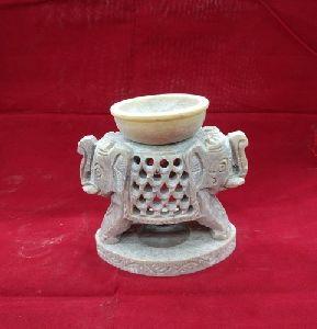 Soap Stone Aroma Lamp Oil Burner