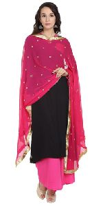 Chiffon Embroidered Dupatta