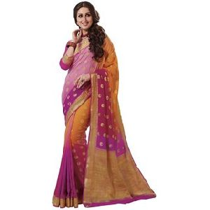 Crepe Silk Embroidered Sarees