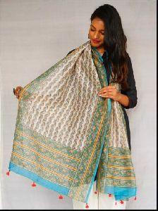 Silk Printed Dupatta