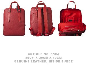 1934 GUARD LEATHER BACKPACK