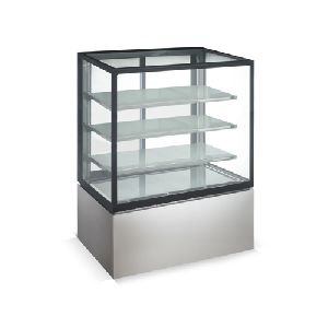 1.5m Floor Stainless Steel Standing 4 Layers Refrigerated Deli Case