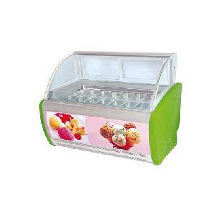 1.85m Back Open Ice Cream Display