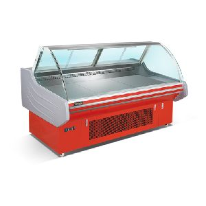 2.5m Fancooling Cooked Food Showcase