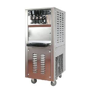 22L/H Standing Three Flavors Soft Ice Cream Machine