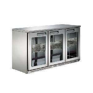 3 Doors Fancooling Bar Refrigerator
