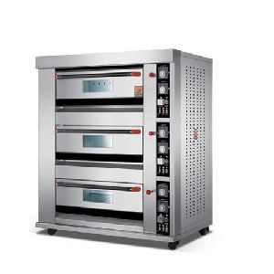 3-Layer 9-Tray Electric Deck Oven