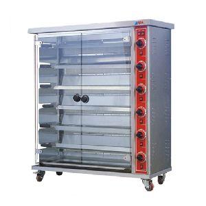 6-Layer Gas Rotisserie
