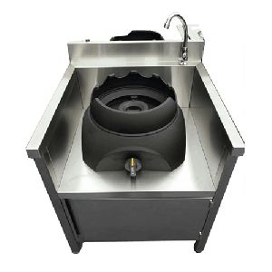 Cast Iron Table Frying Stove