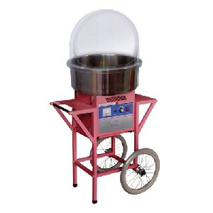 Cotton Candy Machine With Cart And Cover