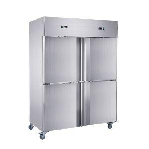 Dual Temperature Double Split Door Cabinet