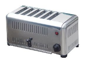 Electric 6-Slicer Commercial Toaster
