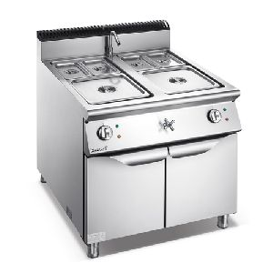 Electric Bain Marie With Cabinet
