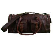 Leather Sports Gym Bag