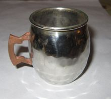 Stainless Steel Small Mug Polished
