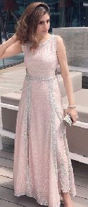 Baby Pink Party Wear Indo Western Suits