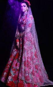 Deepika Padukone Style Bridal Lehenga Choli