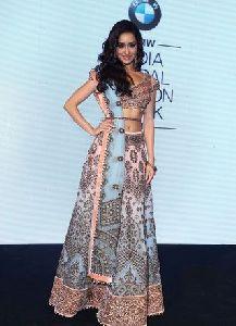 Shraddha Kapoor Multi Color Designer Lehenga Choli