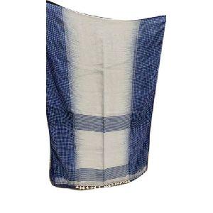 Ethnic Handloom Linen Saree