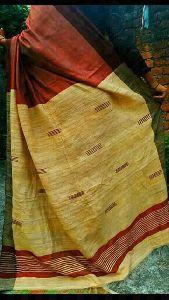 Tussar Ghicha Viscose Silk Saree
