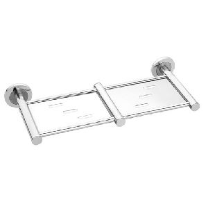 Stainless Steel Sliver Soap Dish