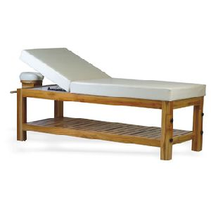 Solid Teak Wood Made Spa Massage Table