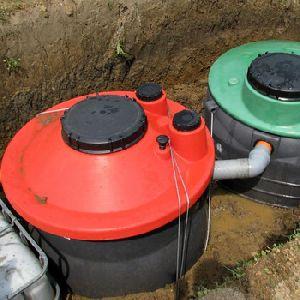 bacterial septic tank