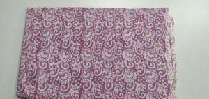 2.5 meter Flower ball Print Hand block Printed Cloth Cotton Fabric
