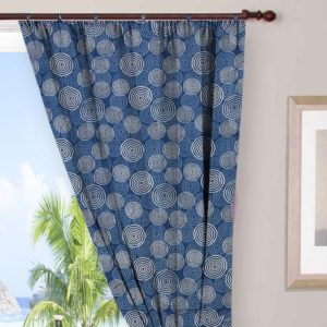 Cotton Voile Indian Hand Block Printed Cotton