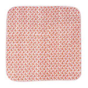Hand Block Monkey Print Baby Kantha Quilt