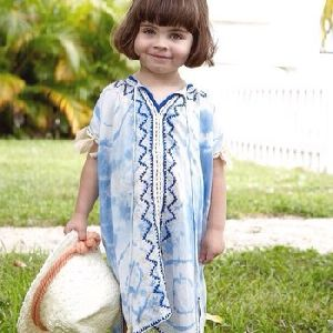 Kids Embroidered Kaftan