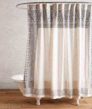 Cotton Printed Curtain 02