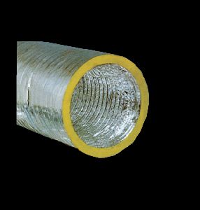 CRAYFLEX FLEXIBLE DUCT INSULATED