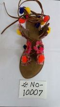 Fashionable Hand Hand Made Ladies Slippers