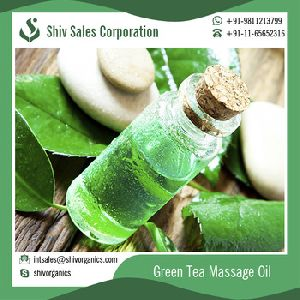 Natural Green Tea Aromatherapy Massage Oil