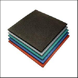 Gymnasium Floor Rubber Tiles