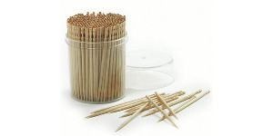 Plastic And  Wooden Stirrer