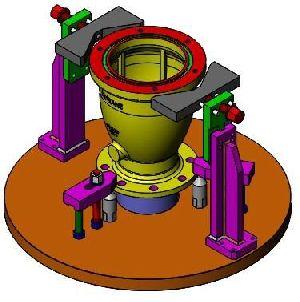 VTL Turning Mechanical Fixtures