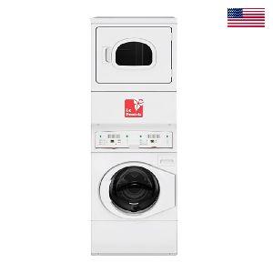 Leprotek Stack Washer, Dryer Gas (capacity- Washer:22, Dryer: 10.2 Kg)