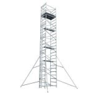 Double width Aluminium Scaffold Tower
