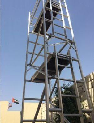 Single width Aluminium Scaffold Tower