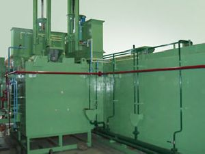 Continuous type Gas Carburising Furnace