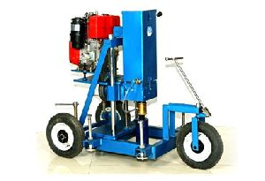 Diesel Engine Driven Drilling Machine